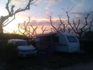 camping blau